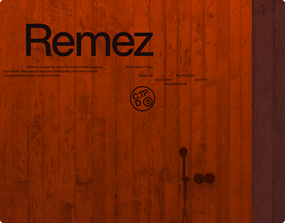 Remez – Architect's Portfolio Website