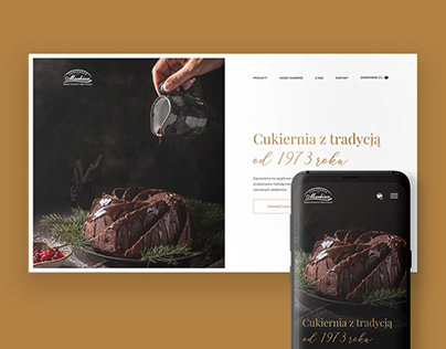 Patisserie website - UI/UX - Redesign concept