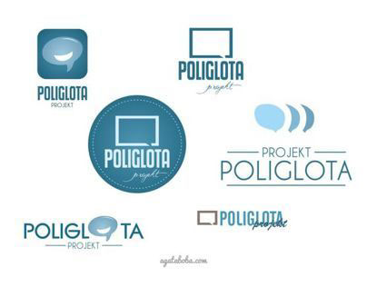 Poliglota logo concept