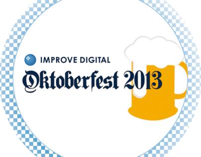 Improve Digital Oktoberfest invitation