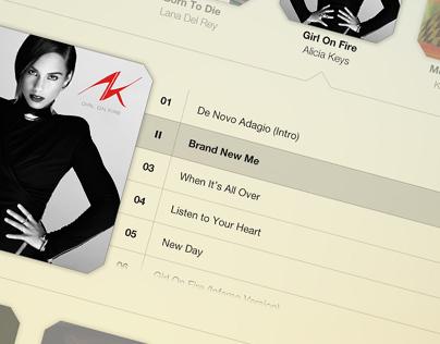 Voxe - Tablet Music App