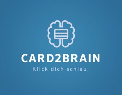 Card2Brain Logo