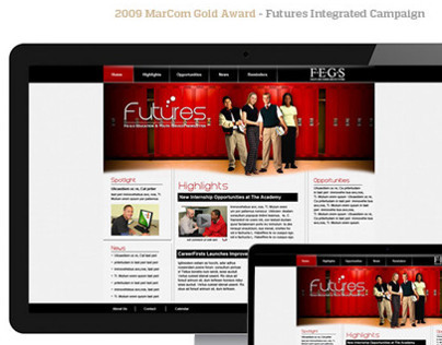 FEGS Futures Intranet Campaign
