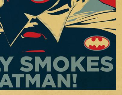 (In Progress) Batman Series in Shepard Fairey art style