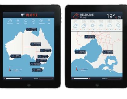 Australian Weather Forecast App