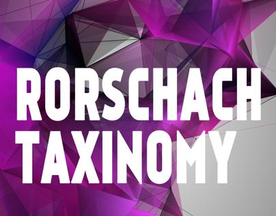 Rorschach taxinomy