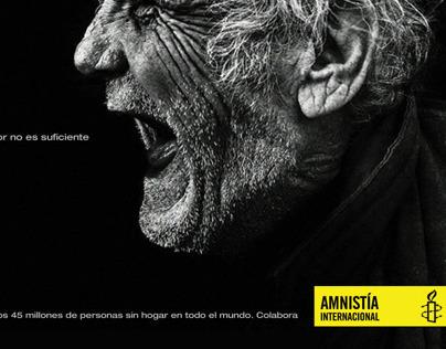 Campaña Refugiados para Amnistía Internacional