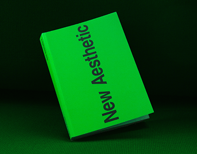 Autark typeface published in New Aesthetic 2