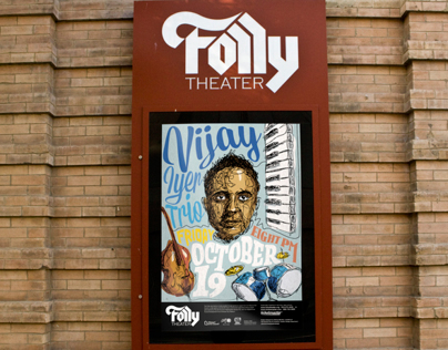 Vijay Iyer Trio at the Folly