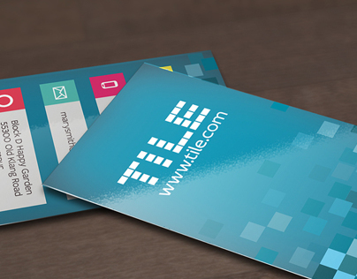 Tile Design Business Card