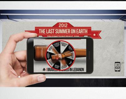 "The dare wheel Lebanese Brew ""The last summer on earth"""