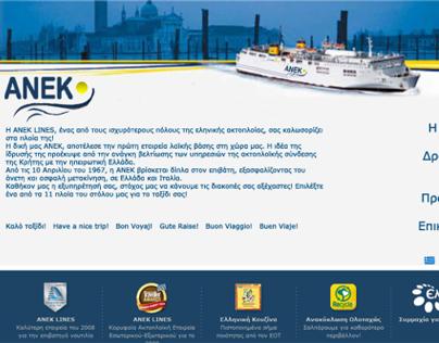 Branding & Site for Anek Lines