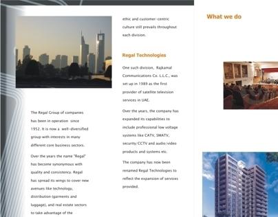 Corporate Profile for Regal Technologies
