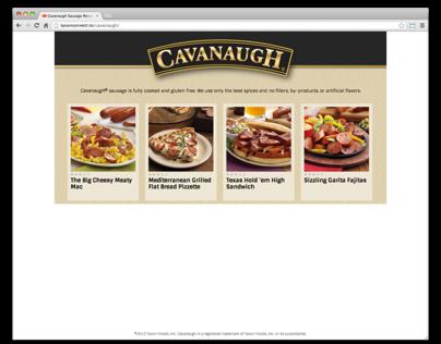 Cavanaugh Sausage Recipes