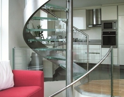 Basin Approach Spiral Staircase