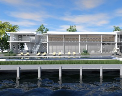 Tropical Modern House II (Fort Lauderdale, USA)
