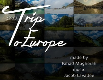 my trip to europe