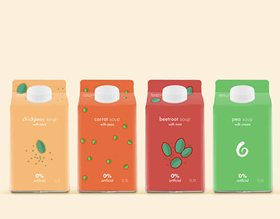 Soup Illustrations | packaging