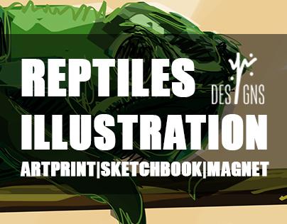 Reptiles Illustration