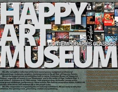 HAPPY ART MUSEUM @ ART MOSCOW 2013