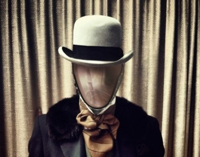 Man without face by MesserArtStudio
