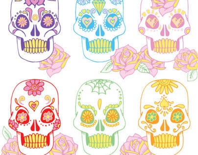 Patterning: Sugar Skulls