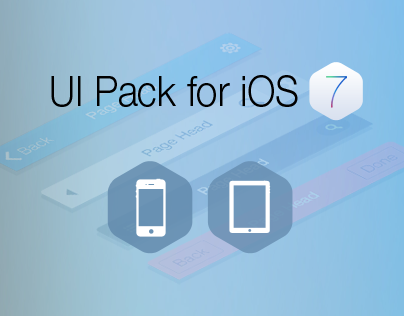 Flat UI Pack for Apps - Build Apps. Beautifully