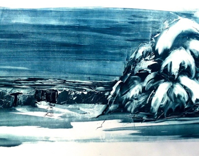 Large Scale Monotype