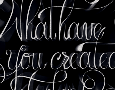 What Have You Created Today? n°2