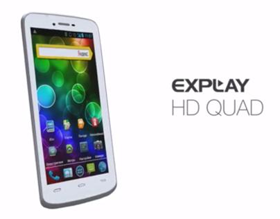 Explay HD Quad
