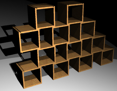 Bookcase-Space Divider
