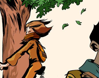 Les Autres . Comic Book