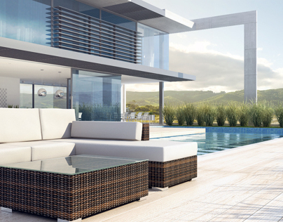 Patio and garden furniture visualizations
