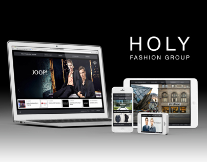 HOLY FASHION GROUP Website