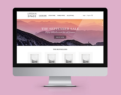 Urban Space Web Design