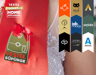 Vestel | Pinnable Home Appliances | Integrated Campaign