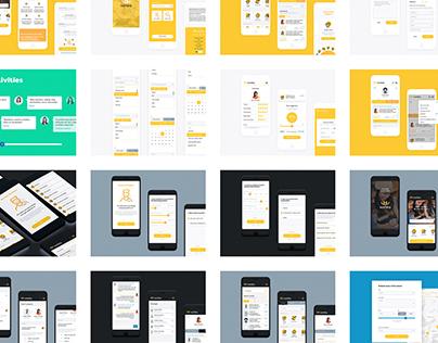 Worbbior UI App Design
