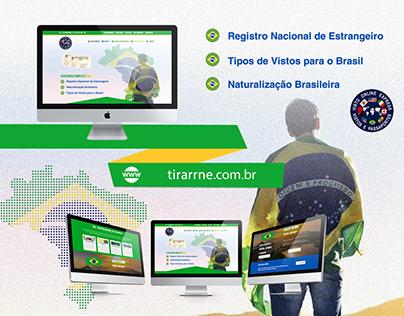 Web Design | Website Tirar RNE (Visto Online Express)