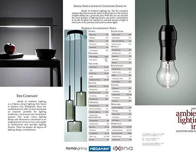 Abode of Ambient Lighting Inc Brochure