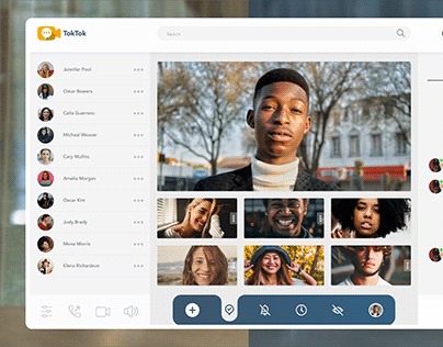 Video Chat UI