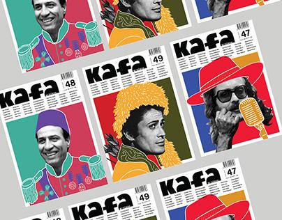 Editorial Design---- Kafa Magazine