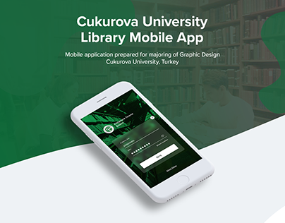 Library Mobile App Student Show