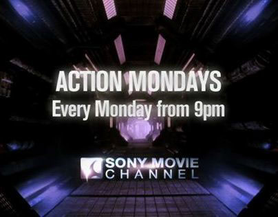 Sony Movie Channel UK Action Mondays August