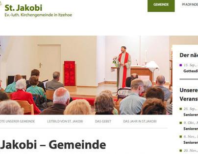 Webseite St. Jakobi Gemeinde