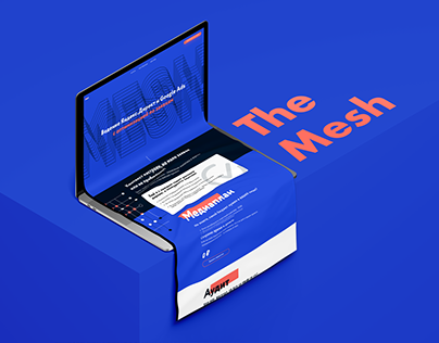 The Mesh Agency Landing and Branding