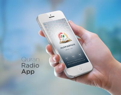 Mobile Quran-Radio App