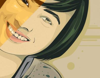Neshi (Vector portrait : Collaboration)