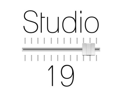 Studio 19 Logo Design