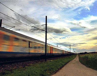 Cinemagraphs / Animated photography - Trains