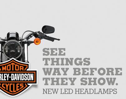 PRINT · Harley Davidson